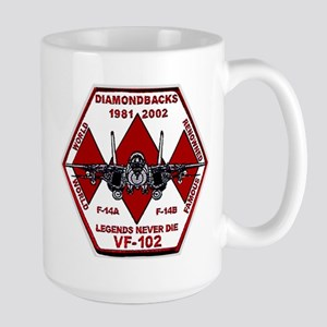 VF 102 Diamondbacks Commemorative Large Mug